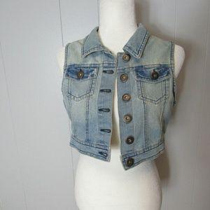 Highway Jeans Jean Jacket Size Medium